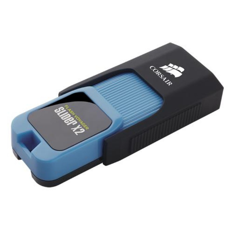 Corsair Voyager Slider X2 USB flash drive 512 GB USB Type-A 3.2 Gen 1 (3.1 Gen 1) Black,Blue