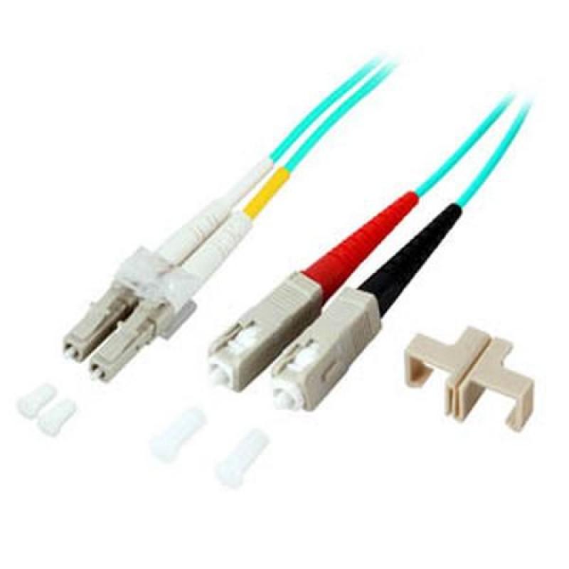 EFB Elektronik O0314.7,5 fiber optic cable 7.5 m LC SC Blue