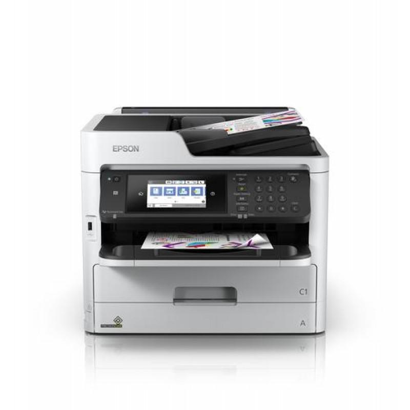 Epson WorkForce Pro WF-C5710DWF Inkjet 34 ppm 4800 x 1200 DPI A4 Wi-Fi Black,Grey
