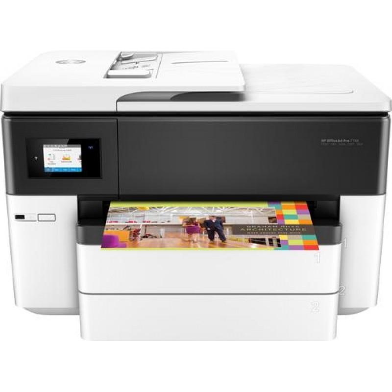 HP OfficeJet Pro 7740 Thermal Inkjet 22 ppm 4800 x 1200 DPI A3 Wi-Fi Black,White