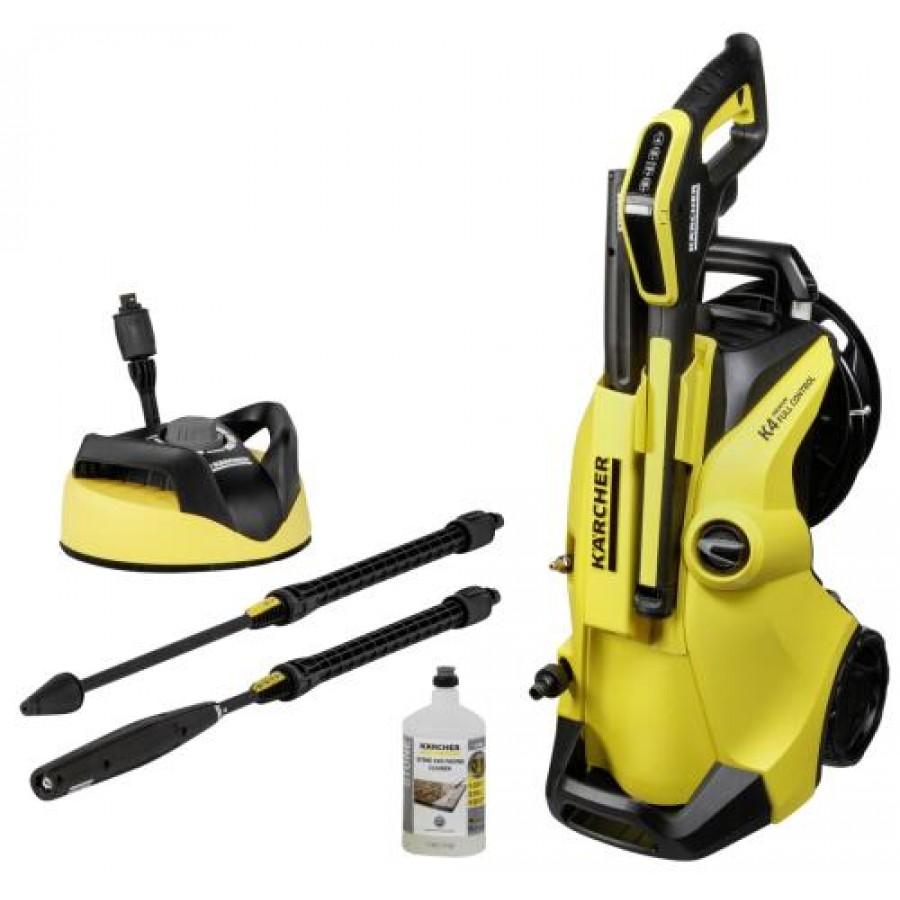 Kärcher K 4 FC Premium Lite Home pressure washer Upright Electric Black,Yellow 420 l/h 1800 W