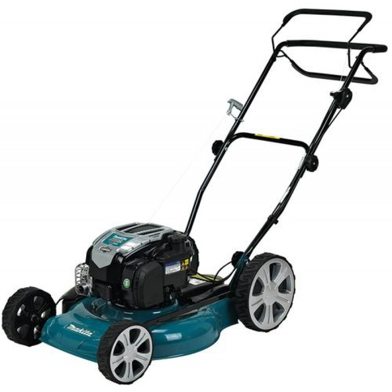 Makita PLM5121N2 lawn mower Walk behind lawn mower Black,Blue Petrol
