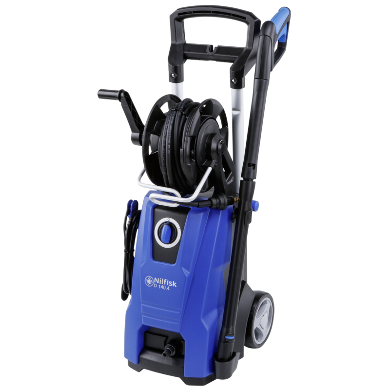 Nilfisk D 140.4 pressure washer Compact Electric Black,Blue 550 l/h 2400 W