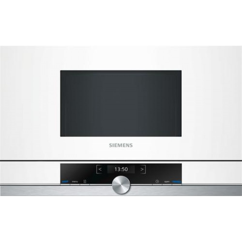 Siemens BF634LGW1 microwave Built-in Solo microwave 21 L 900 W White