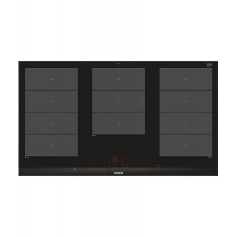 Siemens EX975LXC1E hob Black,Stainless steel Built-in Zone induction hob
