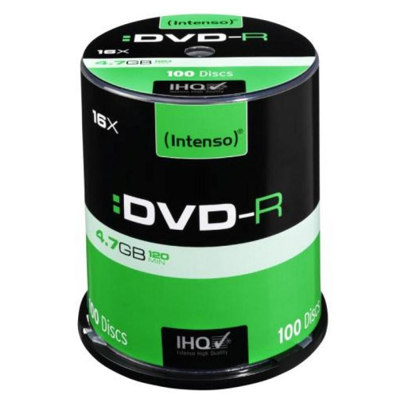 Intenso DVD-R 4.7GB 100 pc(s)