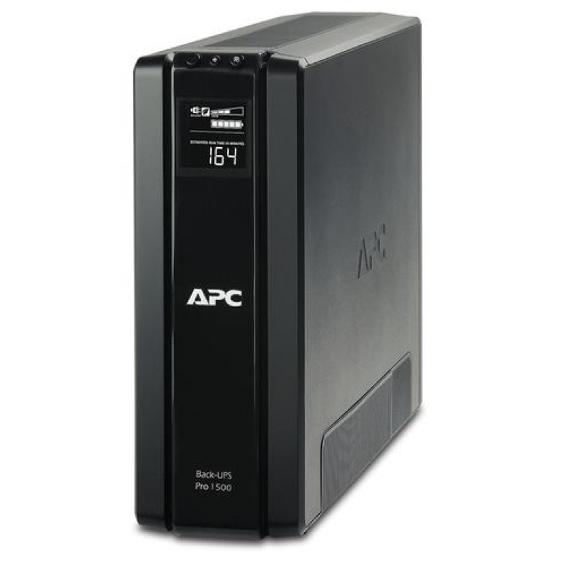 APC Back-UPS Pro uninterruptible power supply (UPS) Line-Interactive 1500 VA 865 W Black