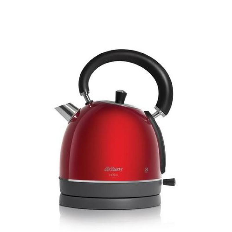 Arzum AR3048 electric kettle 1.8 L Black,Red 2200 W