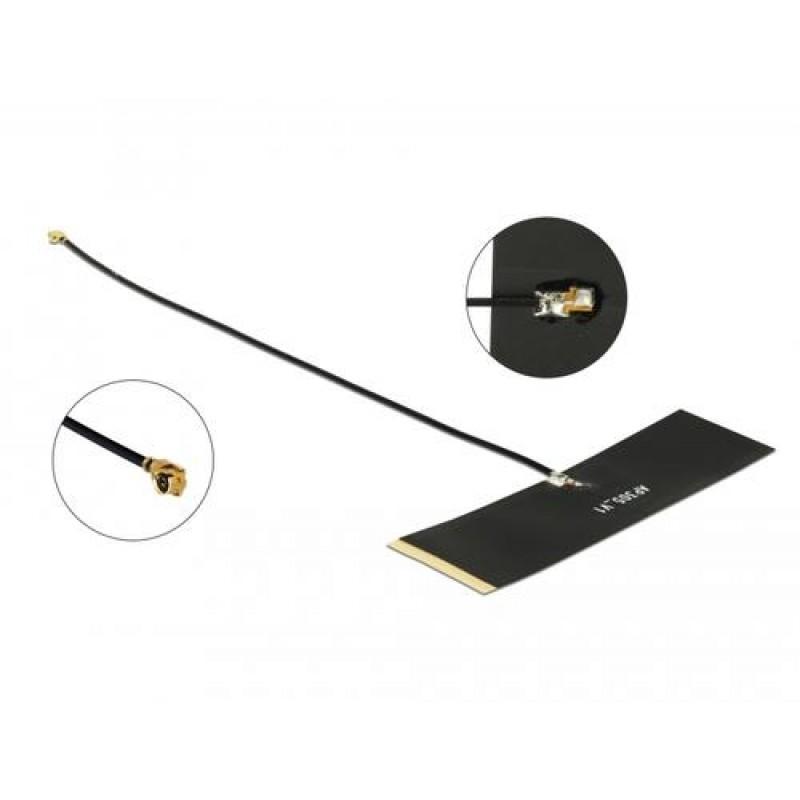 DeLOCK TETRA network antenna MHF Black