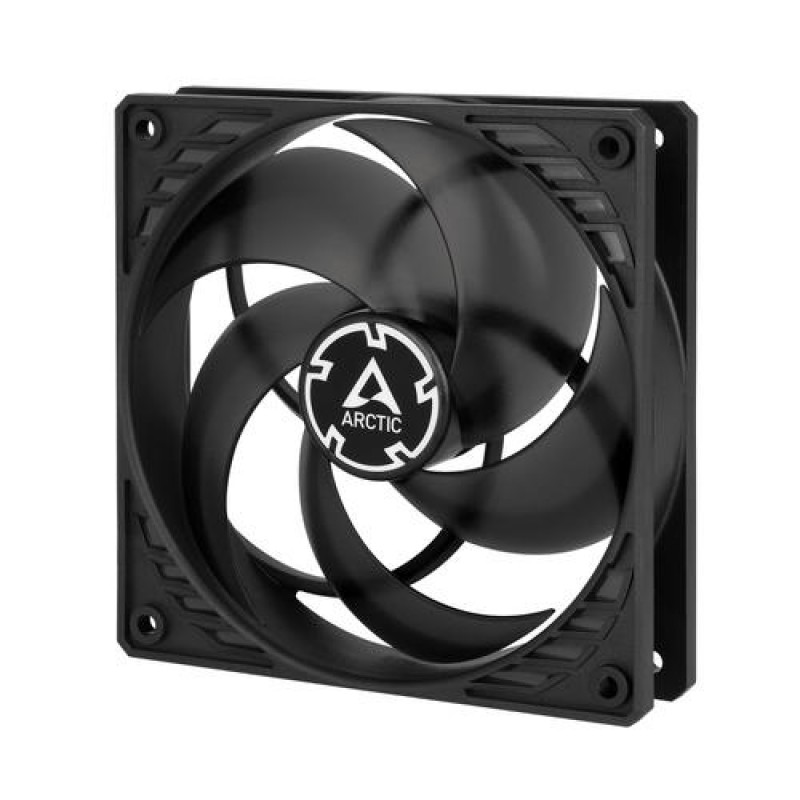 ARCTIC P12 PWM -P12 PWM - Pressure-optimised 120 mm Fan with PWM Black,Transparent