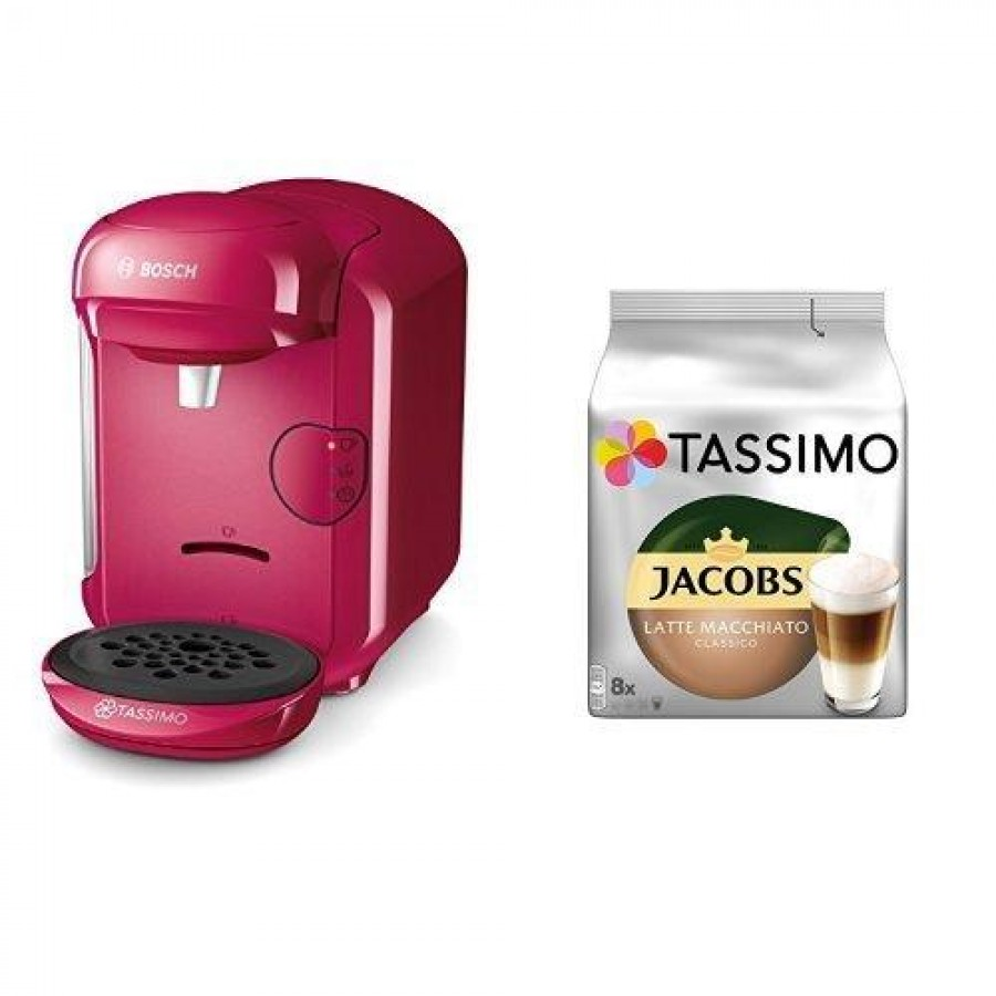 Bosch TASSIMO VIVY 2 Combi coffee maker 0.7 L Fully-auto Pink