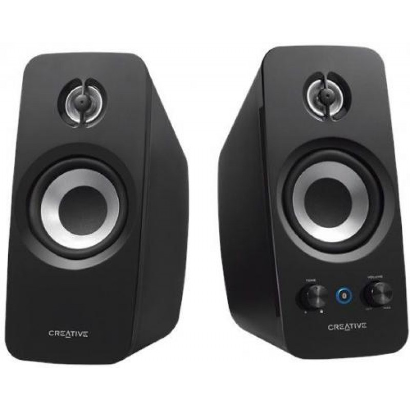 Creative Labs T15 loudspeaker Black Wired & Wireless