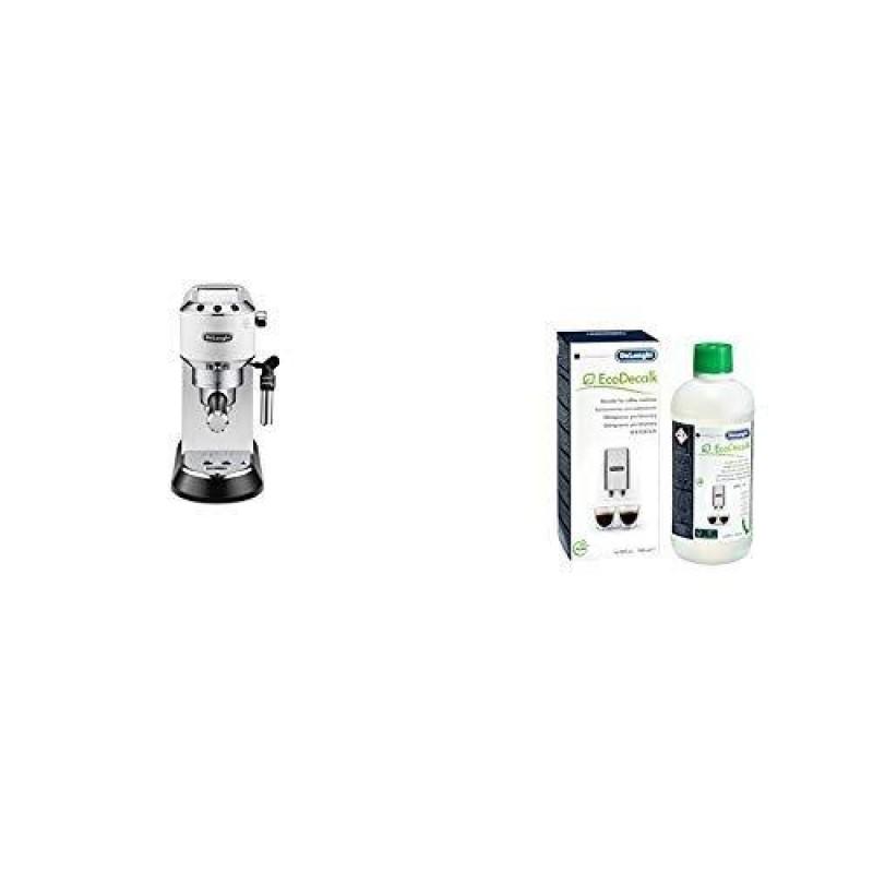DeLonghi Dedica Style EC 685.W Freestanding Espresso machine Black,Silver,White 1.1 L Semi-auto