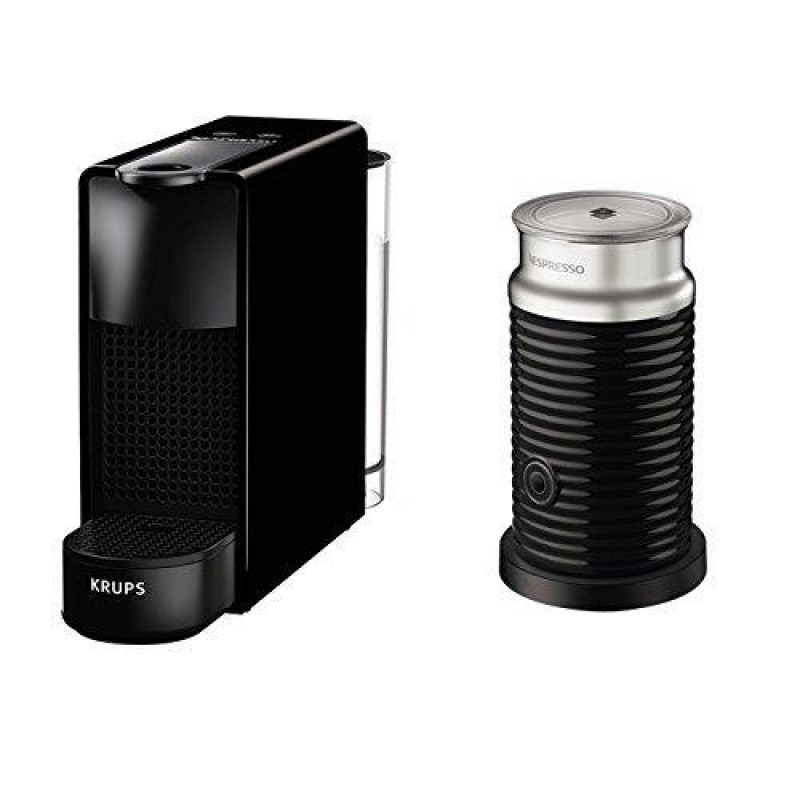Krups XN1118 coffee maker Freestanding Espresso machine Black 0.6 L 1 cups Manual