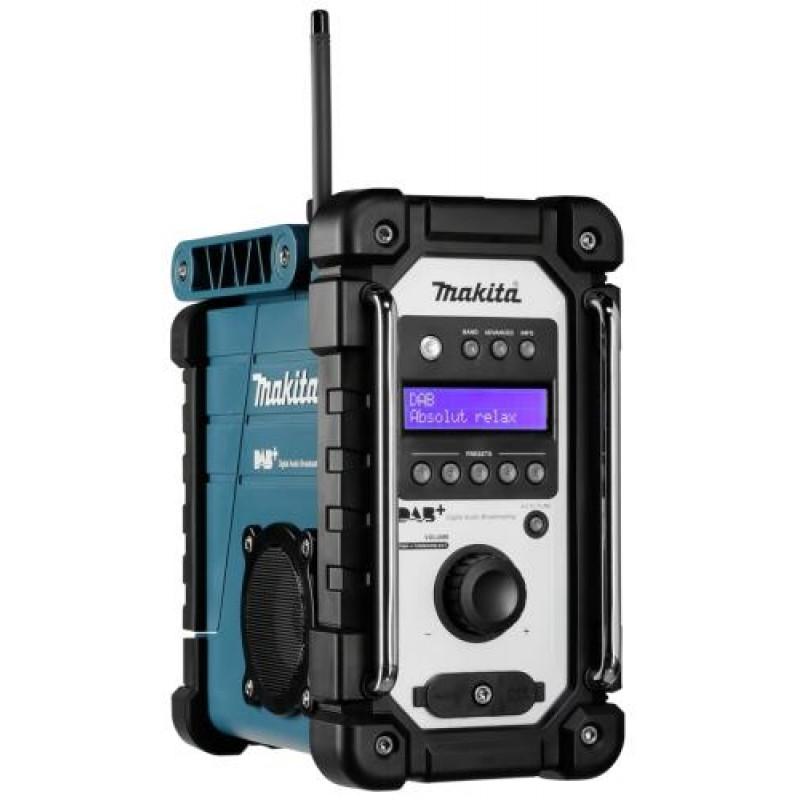 Makita DMR 110 blue DAB Job Site Radio