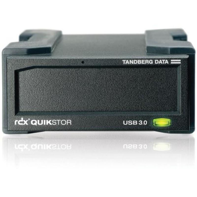 Tandberg Data 8782-RDX tape drive Black