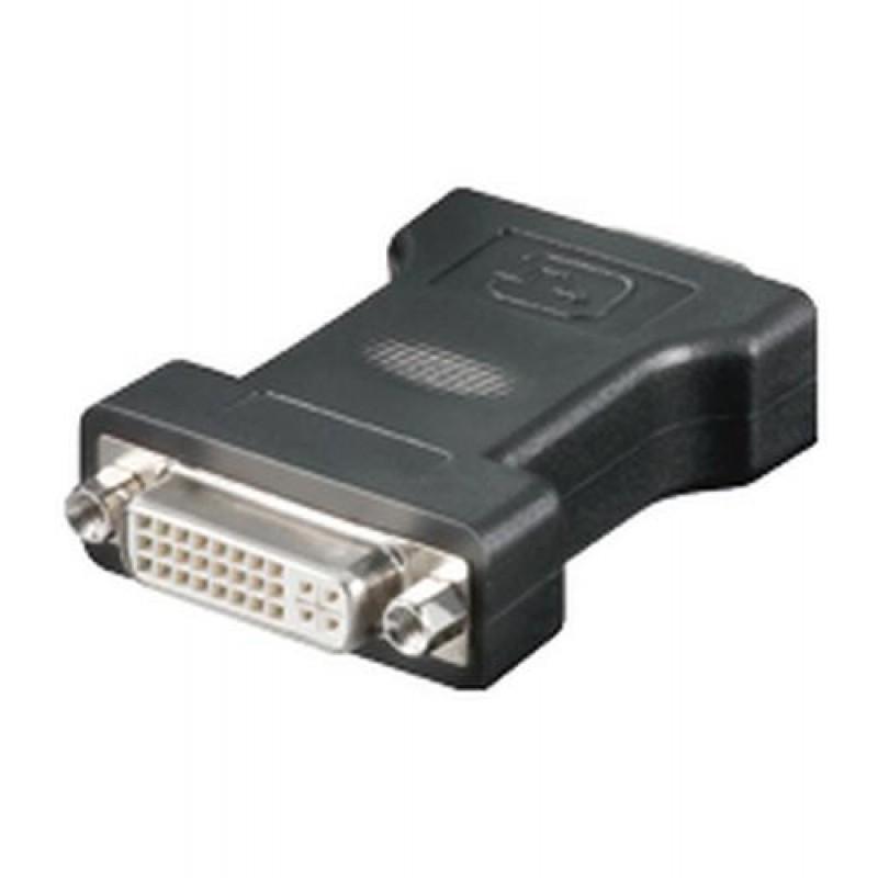 Goobay MMK ADAP DVI F > 15 pin HD M (VGA) DVI-I 15 VGA HD M