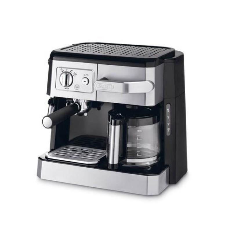 DeLonghi BCO 420.1 coffee maker Freestanding Combi coffee maker 1 L Semi-auto Black,Silver