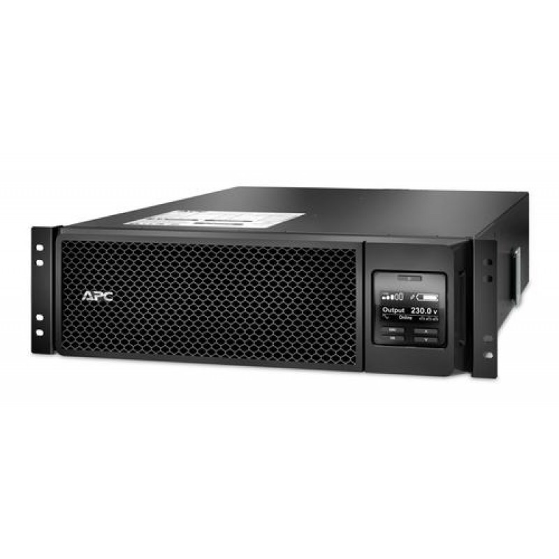APC Smart-UPS On-Line uninterruptible power supply (UPS) Double-conversion (Online) 5000 VA 4500 W 10 AC outlet(s) Black