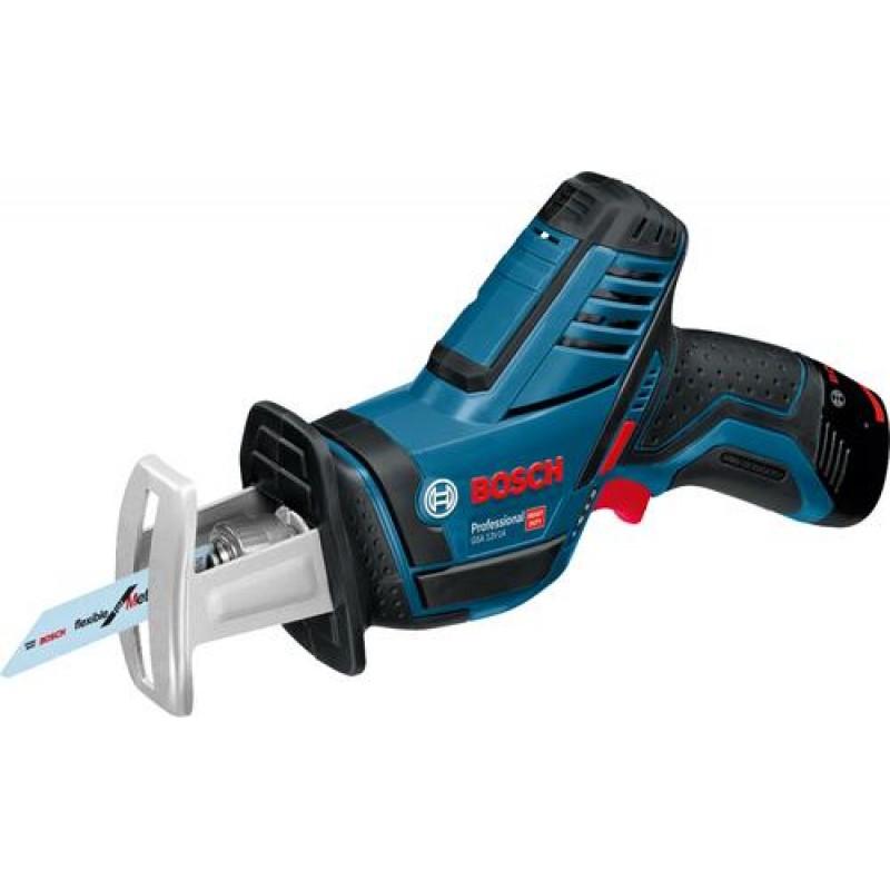 Bosch GSA 12V14 Cordless Saber Saw incl 2 Batteries  Charger