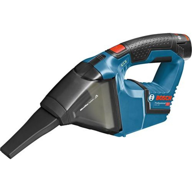 Bosch GAS 12V Professional handheld vacuum Bagless Black,Blue,Red