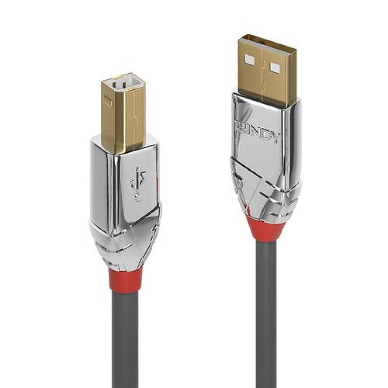 Lindy 36645 USB cable 7.5 m USB A USB B Grey