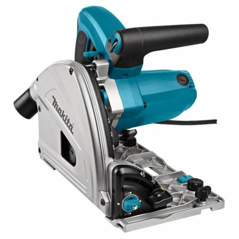 Makita SP6000J circular saw Compact saw Black,Blue 1300 W