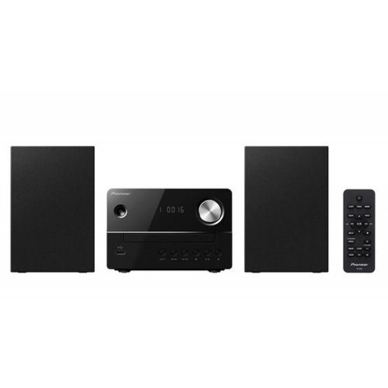 Pioneer X-EM16 home audio set Home audio micro system Black 10 W
