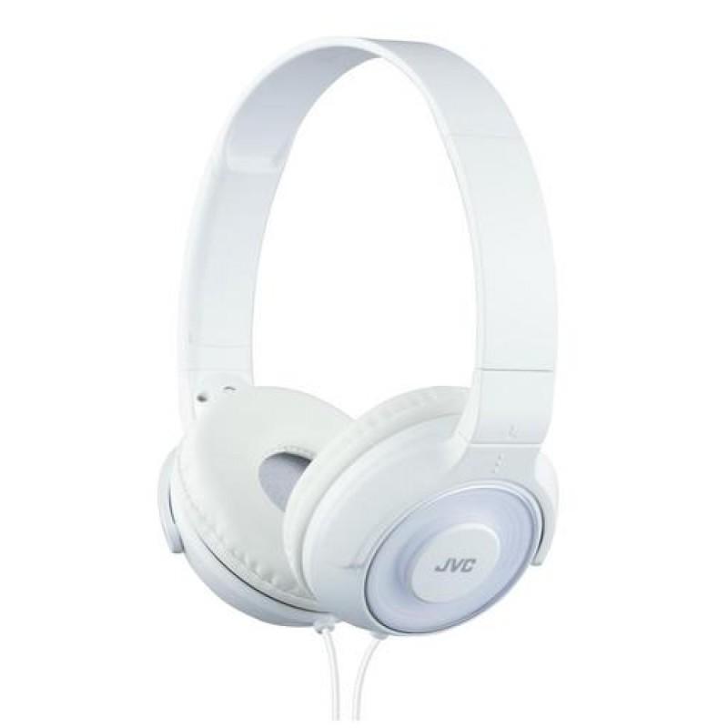 JVC HA-S220-W-E mobile headset Binaural Head-band White