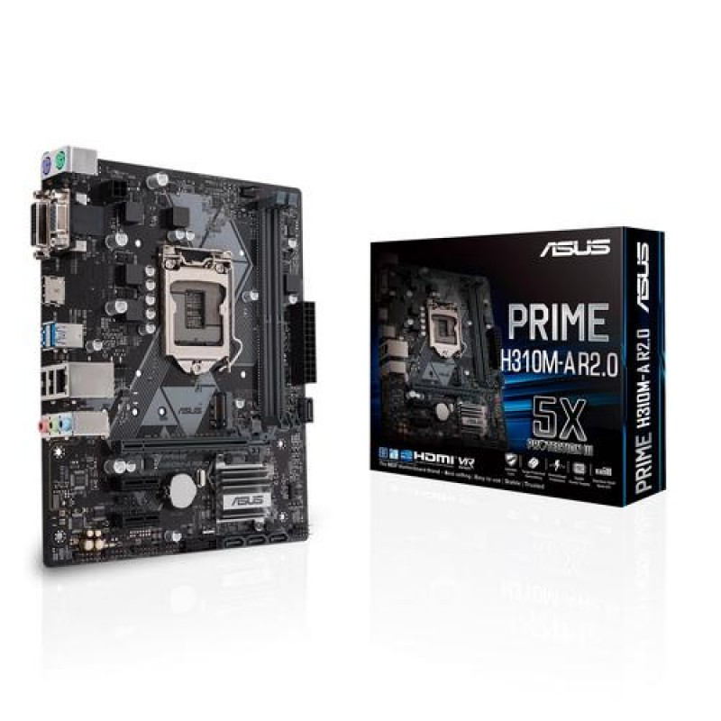 ASUS PRIME H310M-A R2.0 LGA 1151 (Socket H4) Intel® H310 Micro ATX