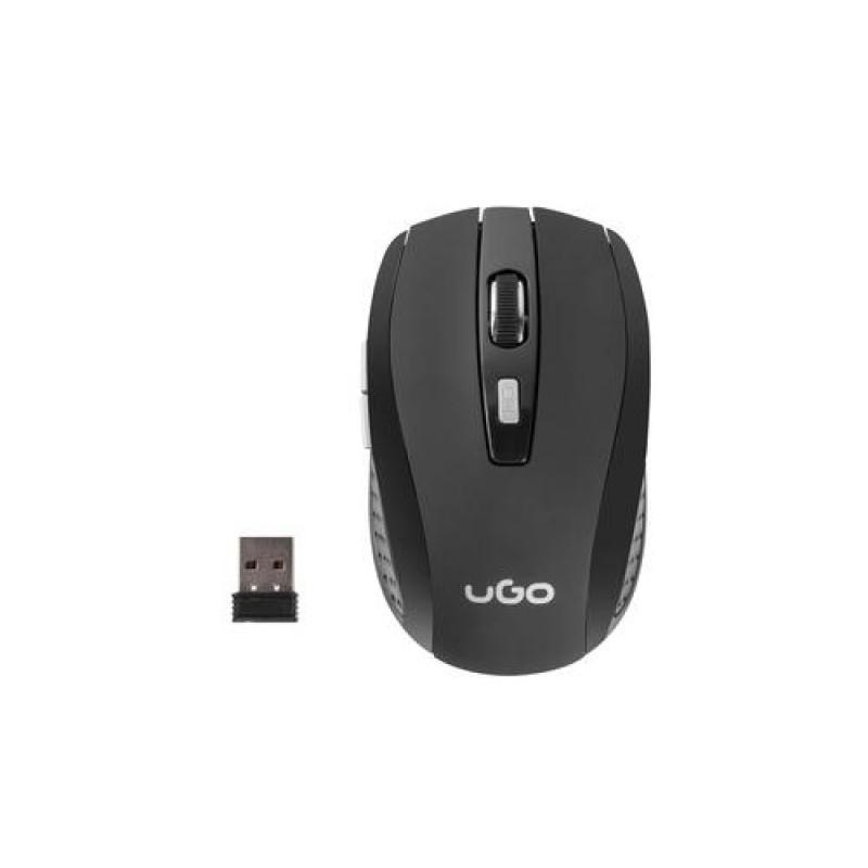 uGo MY-03 mice RF Wireless Optical 1800 DPI Right-hand Black