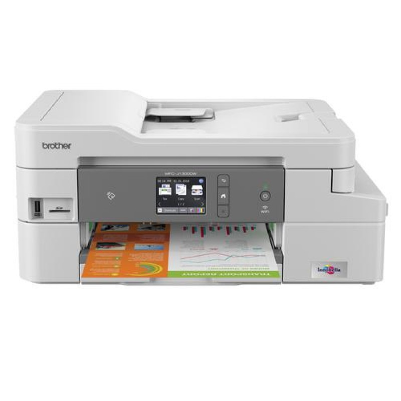 Brother MFC-J1300DW multifunctional Inkjet 27 ppm 1200 x 6000 DPI A4 Wi-Fi White
