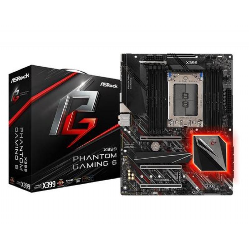 Asrock X399 Phantom Gaming 6 Socket TR4 AMD X399 ATX