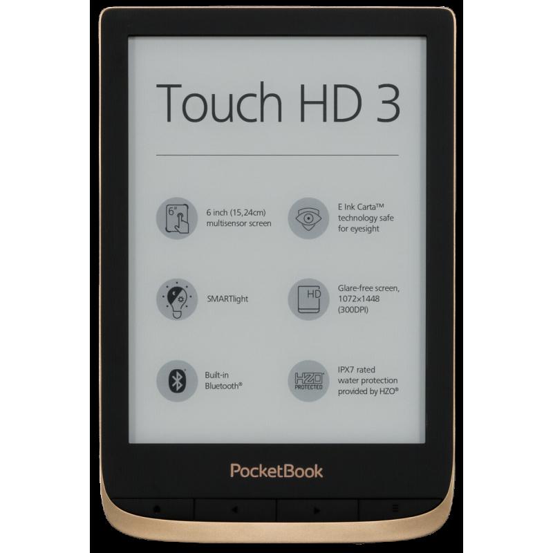 Pocketbook Touch HD 3 e-book reader Touchscreen 16 GB Wi-Fi Copper