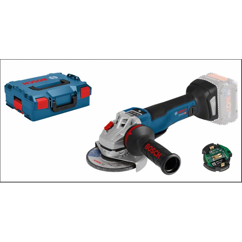 Bosch GWS 18V-10 PSC angle grinder 9000 RPM 2 kg Black,Blue,Grey,Red