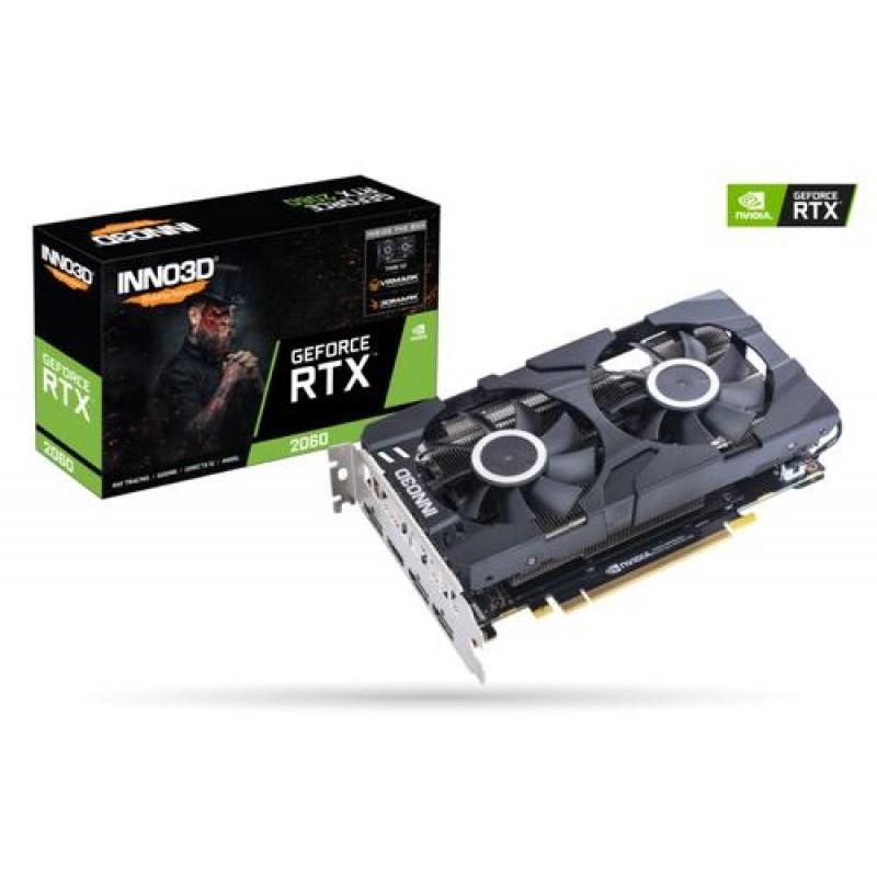 Inno3D N20602-06D6-1710VA23 graphics card GeForce RTX 2060 6 GB GDDR6