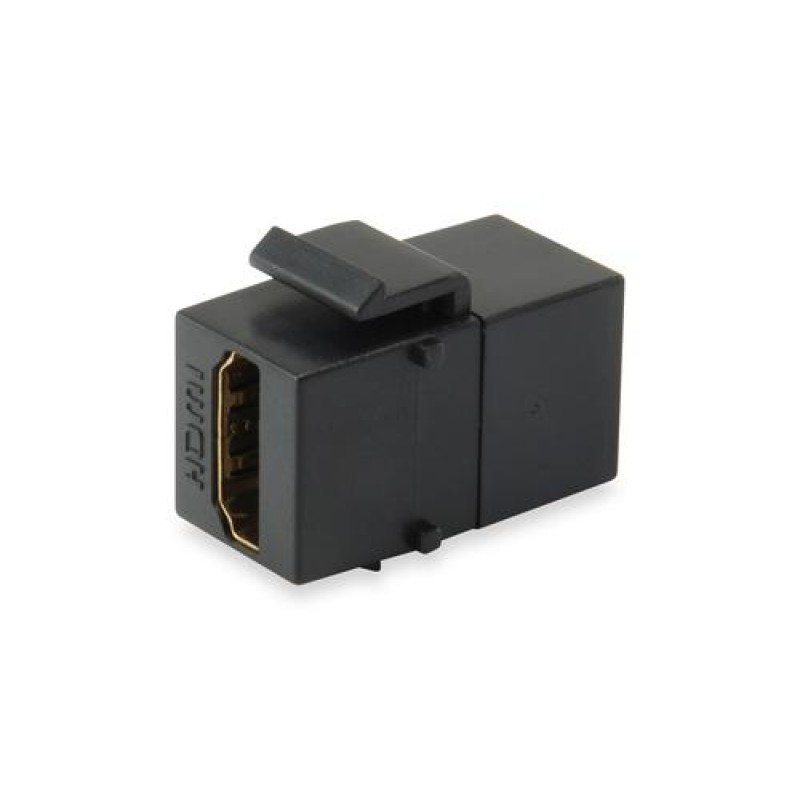 Equip HDMI Keystone Coupler Black