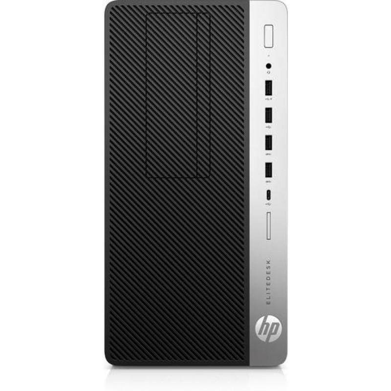 HP EliteDesk 705 G4 3.5 GHz AMD A PRO A10-9700 Black,Silver Micro Tower PC