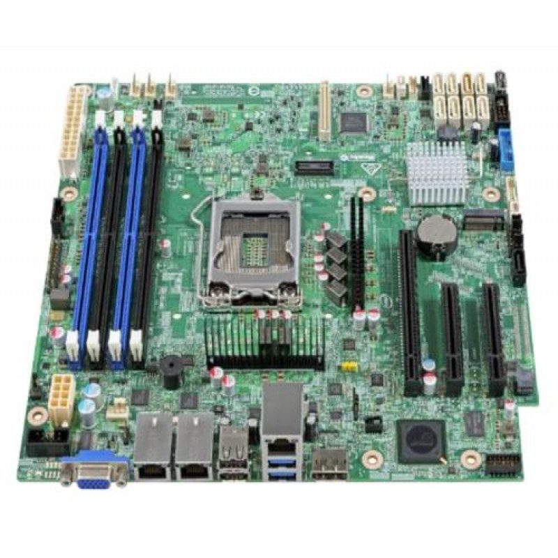 Intel S1200SPSR server/workstation motherboard microATX Intel® C232