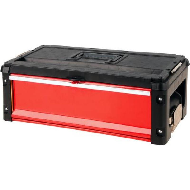 Yato YT-09108 small parts/tool box Metal Black,Red