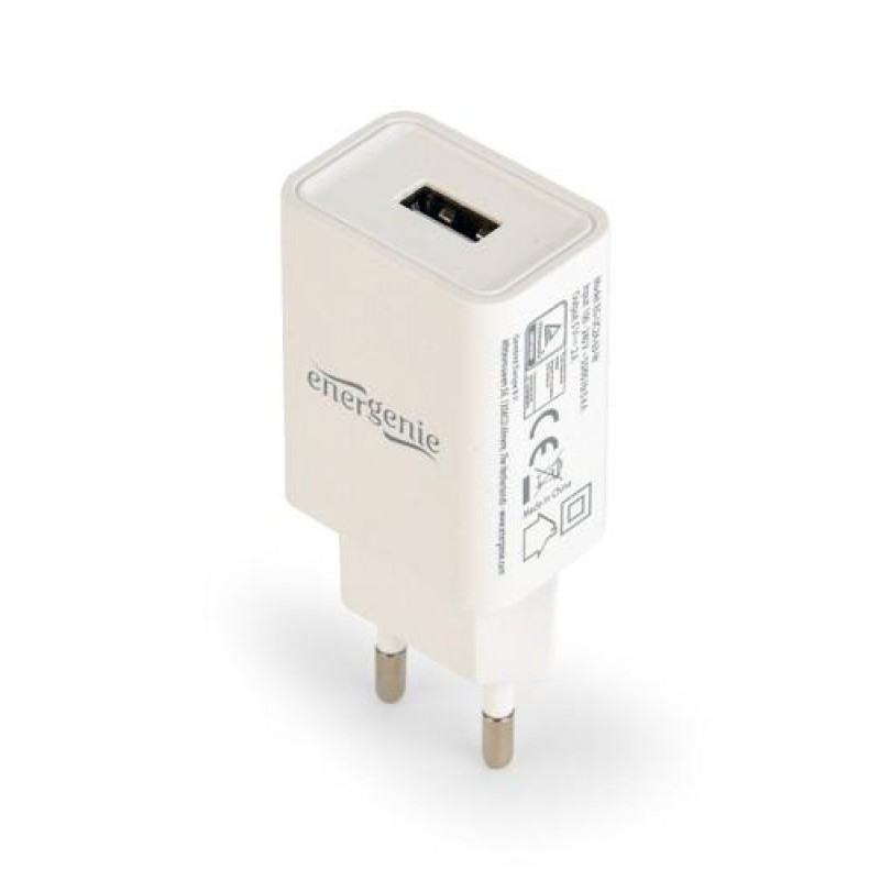 Gembird EG-UC2A-03-W mobile device charger Indoor White