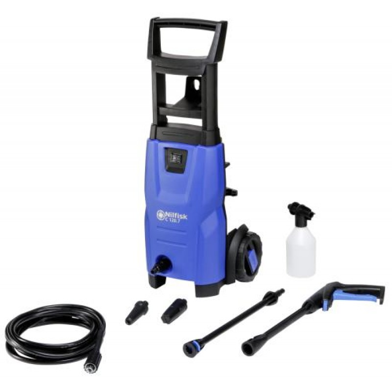 Nilfisk C 120.7-6 EU pressure washer Upright Electric Black,Blue 440 l/h 1400 W