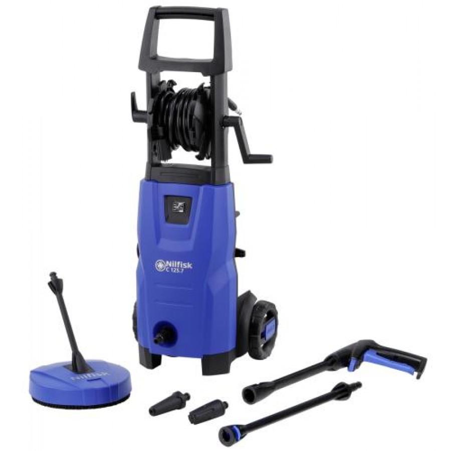 Nilfisk C 125.7 X-TRA pressure washer Upright Electric Black,Blue 460 l/h 1500 W