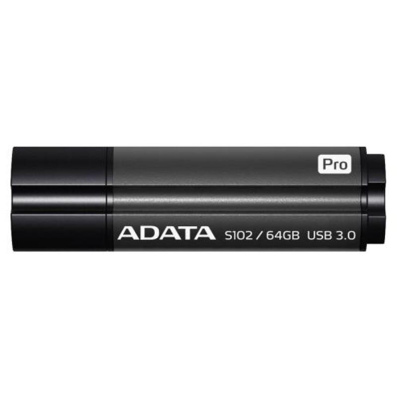 ADATA AS102P-64G-RGY USB flash drive 64 GB USB Type-A 3.0 (3.1 Gen 1) Grey