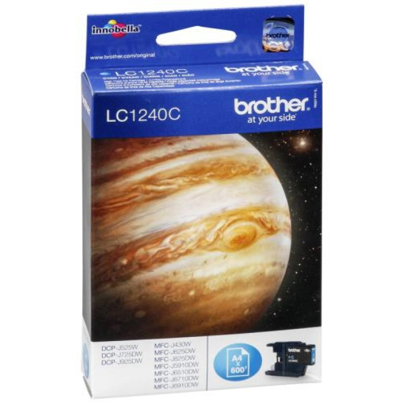 Brother LC-1240C ink cartridge Original Cyan 1 pc(s) Yes