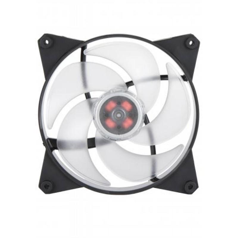 Cooler Master MasterFan Pro 140 Air Pressure RGB Computer case Fan Black,Transparent