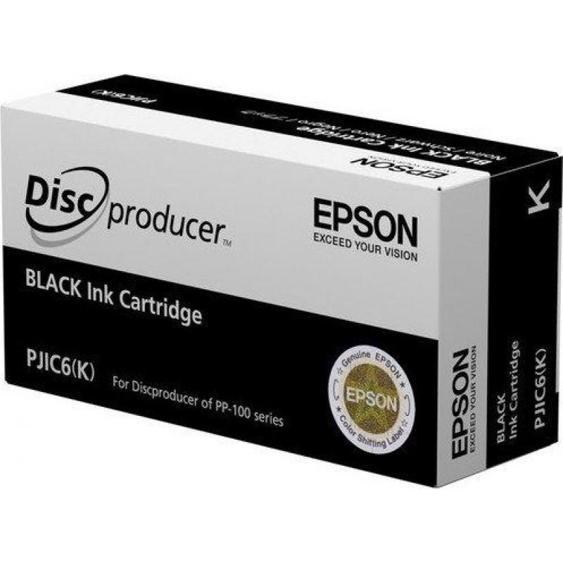 Epson Discproducer Ink Cartridge, Black (MOQ=10)