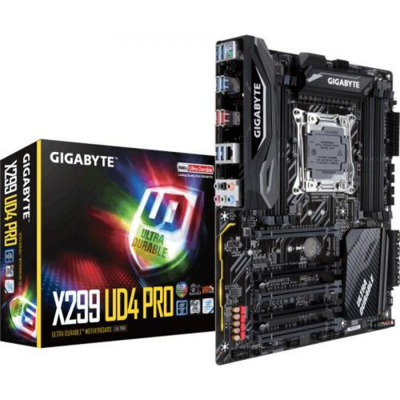 Gigabyte X299 UD4 Pro motherboard LGA 2066 ATX Intel® X299