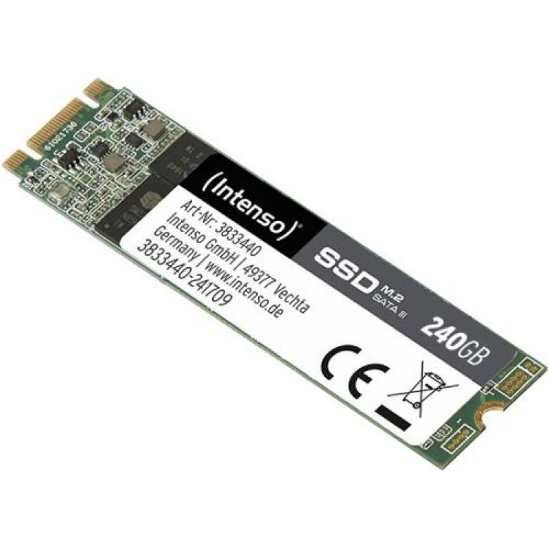 Intenso 3833440 internal solid state drive M.2 240 GB Serial ATA III Green