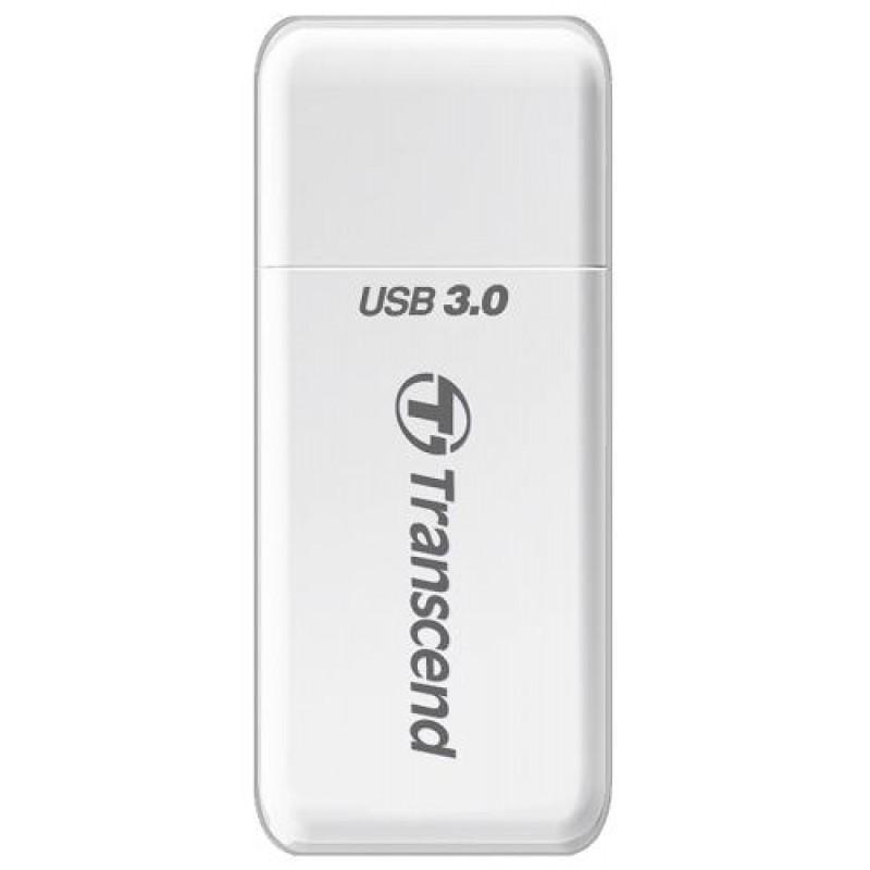 Transcend TS-RDF5W card reader White USB 3.0